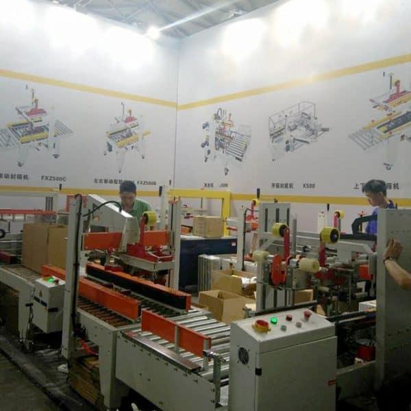 carton sealer exhibition