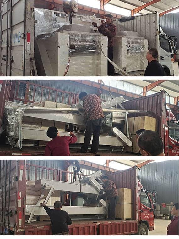soap production line transport