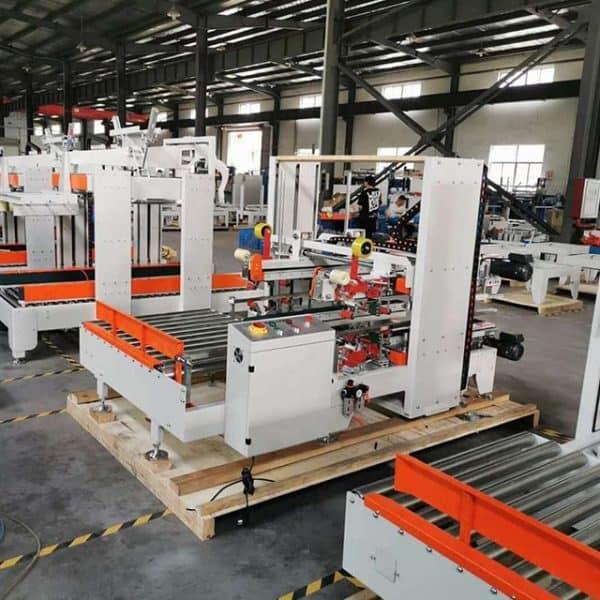 corner carton sealing machine workshop