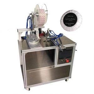 semi automatic soap packaging machine