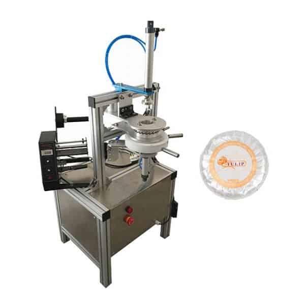 semi automatic pleat soap wrapping machine